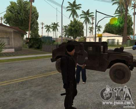Jason Statham pour GTA San Andreas deuxième écran