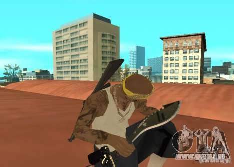 Khukuri pour GTA San Andreas