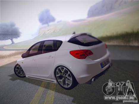 Opel Astra Senner Lower Project für GTA San Andreas linke Ansicht