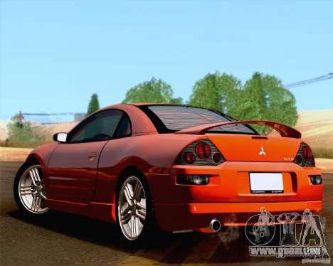 Mitsubishi Eclipse GTS 2003 für GTA San Andreas Rückansicht
