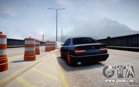 BMW 535i für GTA 4 hinten links Ansicht