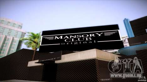 Mansory Club Transfender & PaynSpray für GTA San Andreas dritten Screenshot