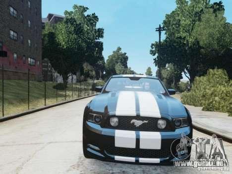 Ford Mustang GT 2013 pour GTA 4 est une gauche