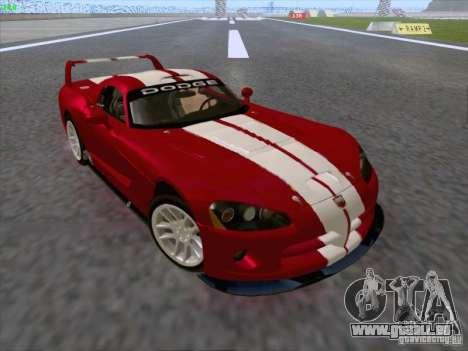 Dodge Viper GTS-R Concept pour GTA San Andreas vue de côté