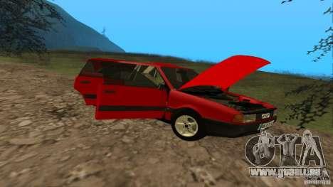 Audi 80 B3 v2.0 pour GTA San Andreas vue intérieure