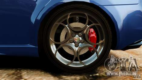 Alfa Romeo 159 TI V6 JTS pour GTA 4 vue de dessus
