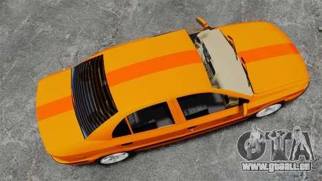 Iran Khodro Samand LX Taxi pour GTA 4 est un droit
