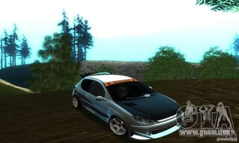 Peugeot 206 Tuning pour GTA San Andreas