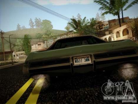 Chevrolet Impala 1972 pour GTA San Andreas vue de droite