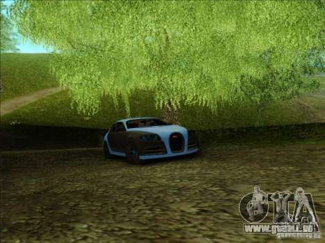 Bugatti Galibier 16c für GTA San Andreas Innenansicht