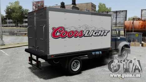 Die neue Werbung für LKW Yankee für GTA 4 linke Ansicht