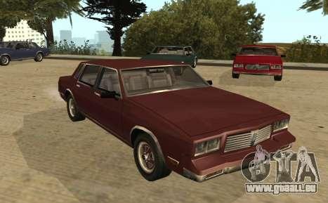 Eon Tahoma pour GTA San Andreas