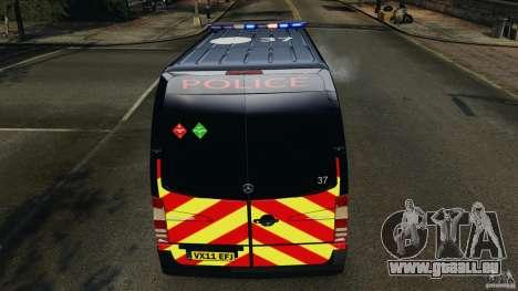 Mercedes-Benz Sprinter Police [ELS] pour le moteur de GTA 4