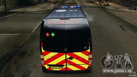 Mercedes-Benz Sprinter Police [ELS] für GTA 4-Motor