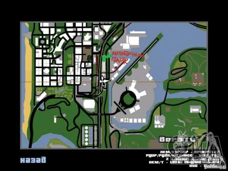 Busparkplatz Version V1. 2 für GTA San Andreas zehnten Screenshot