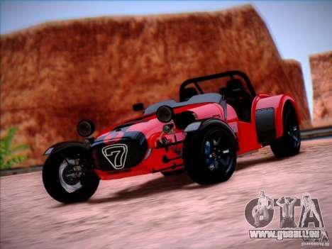 Caterham Superlight R500 für GTA San Andreas rechten Ansicht
