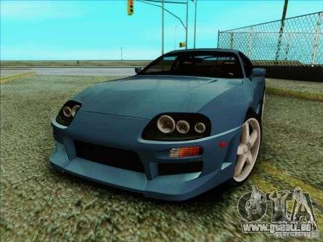 Toyota Supra RZ 1998 pour GTA San Andreas laissé vue