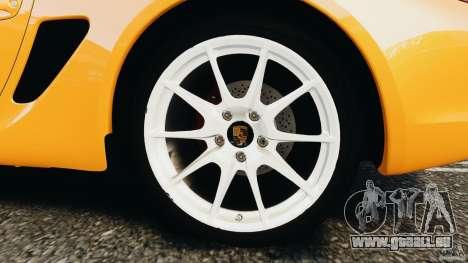Porsche Cayman R 2012 [RIV] pour GTA 4 est un côté