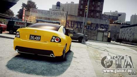 Holden Monaro pour GTA 4 est une gauche