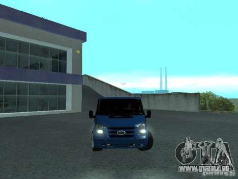 Ford Transit Sport 2011 für GTA San Andreas Rückansicht