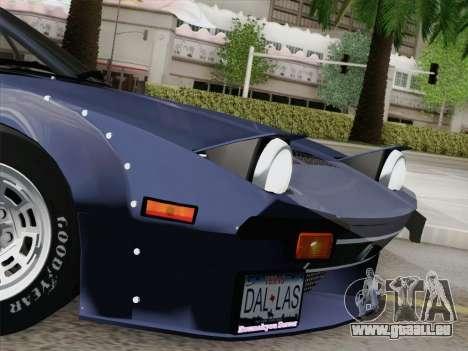 De Tomaso Pantera GT4 für GTA San Andreas Unteransicht