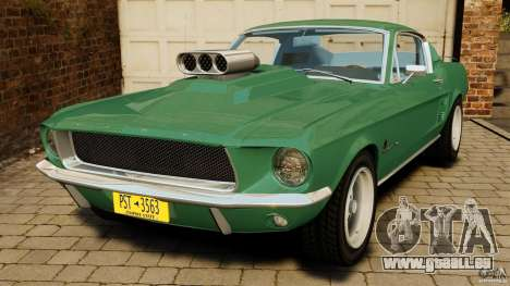 Ford Mustang 1967 pour GTA 4