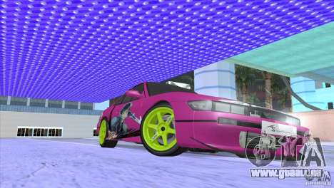Nissan Silvia S13 Sword Art Online pour GTA San Andreas vue de côté