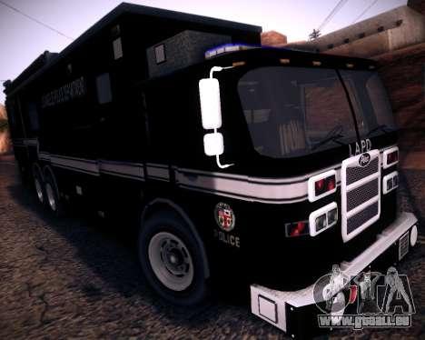 Pierce Contendor LAPD SWAT für GTA San Andreas
