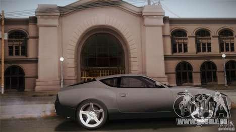 Aston Martin DB7 Zagato 2003 pour GTA San Andreas laissé vue