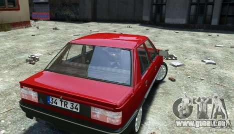 Renault 9 Broadway pour GTA 4 Vue arrière