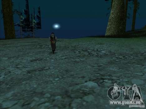 Leatherface pour GTA San Andreas troisième écran