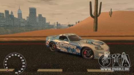 Dodge Viper SRT-10 Mopar Drift pour GTA 4 est une gauche