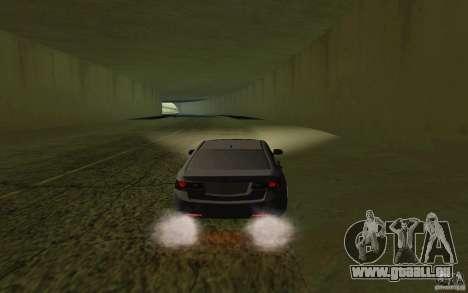 Honda Accord pour GTA San Andreas vue de droite