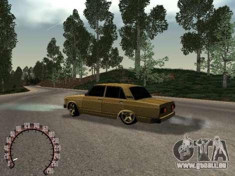 VAZ 2105 or pour GTA San Andreas laissé vue