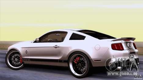 Ford Shelby GT500 Super Snake pour GTA San Andreas vue de droite