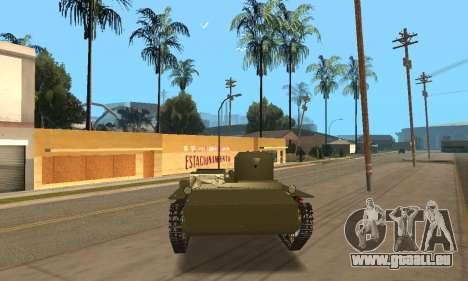 T-38 für GTA San Andreas rechten Ansicht