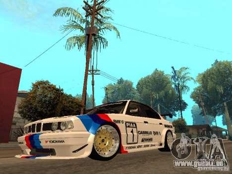 BMW E34 M5 - DTM pour GTA San Andreas