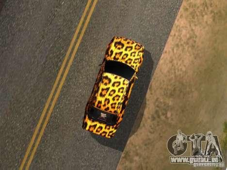 Mercedes-Benz E500 Leopard pour GTA San Andreas vue de droite