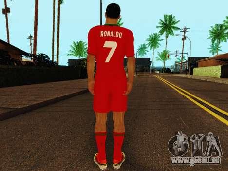 Cristiano Ronaldo v4 pour GTA San Andreas quatrième écran