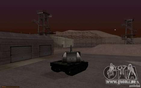 Bat. Chat. 155 SPG pour GTA San Andreas vue de droite