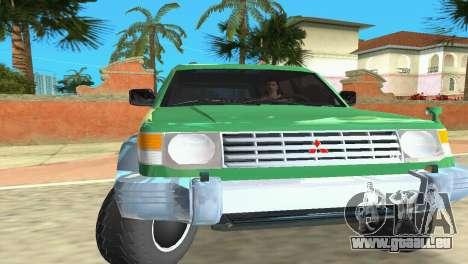 Mitsubishi Pajero 1993 für GTA Vice City linke Ansicht