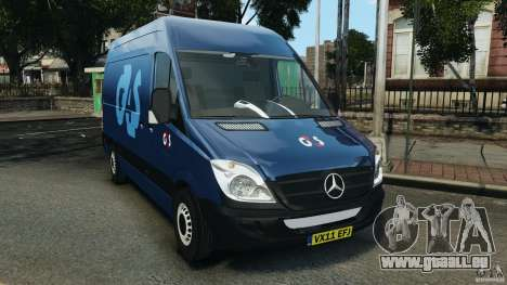 Mercedes-Benz Sprinter G4S ES Cash Transporter für GTA 4