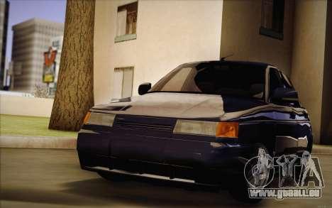 VAZ 2110 Drain pour GTA San Andreas vue arrière