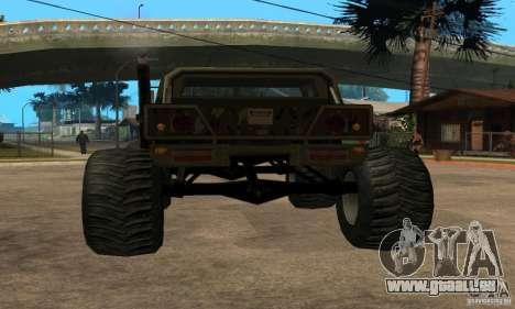 Monster Patriot pour GTA San Andreas laissé vue