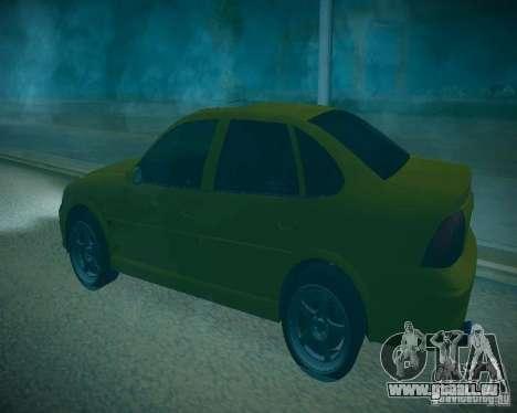 Opel Vectra B für GTA San Andreas Seitenansicht