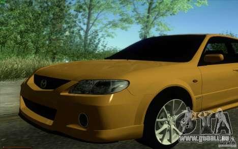 Mazda Speed Familia 2001 V1.0 für GTA San Andreas rechten Ansicht