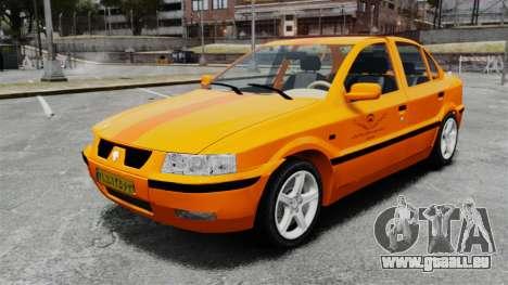 Iran Khodro Samand LX Taxi pour GTA 4