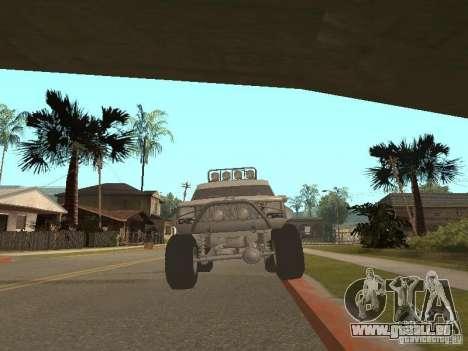 Jeep Cherokee 1984 v.2 pour GTA San Andreas sur la vue arrière gauche