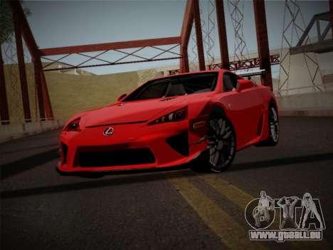 Lexus LFA Nürburgring Edition pour GTA San Andreas