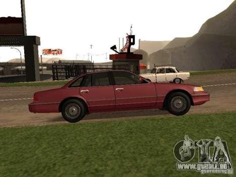 Ford Crown Victoria LX 1994 pour GTA San Andreas laissé vue